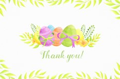 Happy Easter watercolor collection Product Image 6
