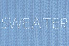 Wavy handwrutten font in ttf and otf Product Image 5