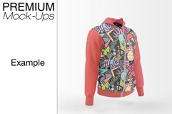 Men's Full-Zip Hoodie Mockup Product Image 5