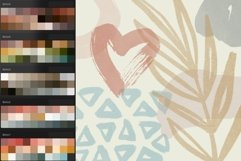 Boho abstract Procreate stamp brushes and palettes Product Image 4