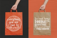 Double Smoothie Font Duo and Family Product Image 6
