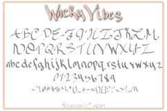 Wacky Vibes Fun Handwritten Font Product Image 2