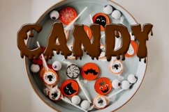 Dripping Zombie Halloween Font Product Image 4