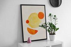 Geometric print art, Boho geometric shapes, Minimalist print Product Image 6