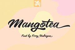 Mangotea - Script Font Product Image 1