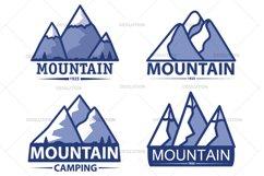 Mountain travel logo. Product Image 1