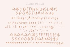 Mansier - Casual Script Typeface Product Image 6