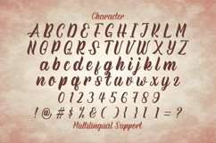 Rineghan - Bold Script Font Product Image 9