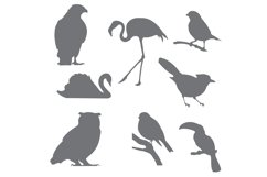 Bird Silhouettes for Crafters Product Image 2