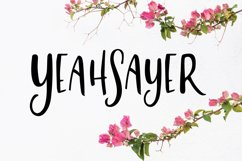 Yeahsayer | Bohemian Sans Seif Product Image 1