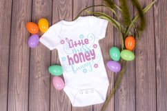 Easter SVG - Little Miss Honey Bunny Product Image 2