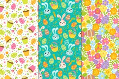12 Spring and Easter seamless patterns Product Image 3