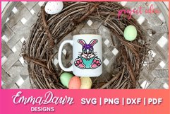 BELLA THE EASTER BUNNY SVG, MANDALA ZENTANGLE 2 DESIGNS Product Image 8