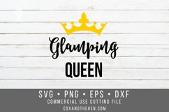 Glamping Queen SVG Product Image 1