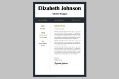 Creative resume template / CV Product Image 3
