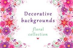 Set of Decorative Floral Elements Product Image 2