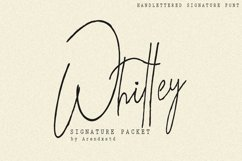 Whitley Signature Packet Product Image 1