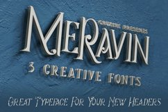 Meravin Typeface Product Image 2