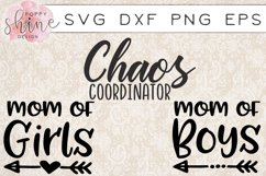 Mommin' Bundle of 15 SVG PNG EPS DXF Cutting Files Product Image 5