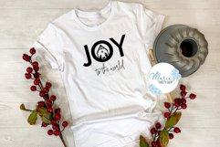 Joy SVG, Joy to the World SVG, Nativity SVG, Manger SVG Product Image 2