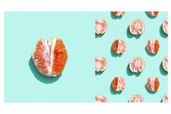Bright grapefruit or red orange, minimal concept Product Image 1