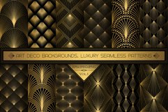 Art Deco Wallpapers Pack   PNG EPS JPG   Vol.1 Product Image 1