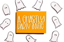 Scary Ghosts - A Spooky Marker Font Product Image 2
