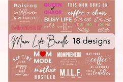 Mom Life SVG Bundle - Mom Bundle - Mothers Day Bundle SVG Product Image 1