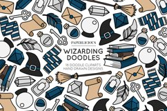 Wizarding Doodle Cliparts Bundle Product Image 5