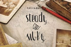 Steady & Silky Typeface + Extras Product Image 1
