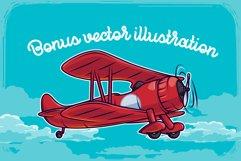 Propeller font illustration Product Image 3