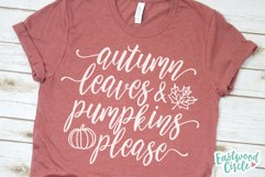 Fall SVG Bundle - Cut Files for Shirts Product Image 2