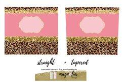 leopard glitter tumbler wrap png 20 oz tumbler bundle Product Image 3