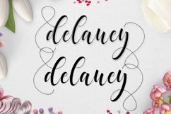 Delaney Script Product Image 2