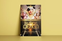 Fashion Design Flyer Template Product Image 2