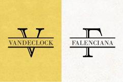 Split Letter Monogram Font Product Image 6