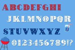 Fireworks - 4th of July Font & Bonus Star Studded Font Product Image 6
