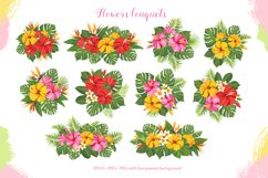 Tropical vector graphic set Product Image 6