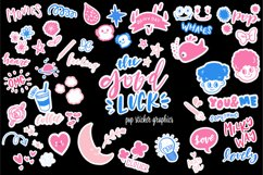 Good Luck - Retro Pop Stickers Product Image 1