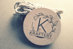monogram vine letter for crafter Product Image 6