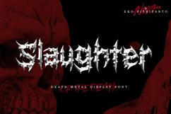 Slaughter Product Image 1