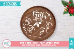 Santa Tray Christmas 2020 SVG, PNG, PDF and other Formats Product Image 2