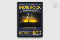 Indie Rock Flyer Template V1 Product Image 1