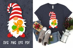 Christmas gnome svg cut files Christmas svg files for cricut Product Image 1