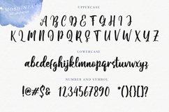 Moshinta Font Product Image 4