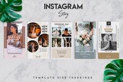 10 instagram wedding template set Product Image 4