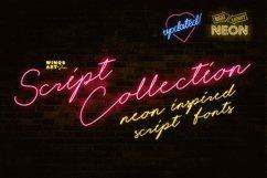 Night Light Neon Font - Script Product Image 1