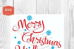 Merry Christmas Y'all Xmas printing files PNG Product Image 4