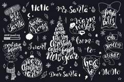 Merry Christmas quotes Lettering set Product Image 4