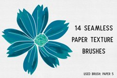 PAPER TEXTURE BRUSHES FOR PROCREATE Product Image 2